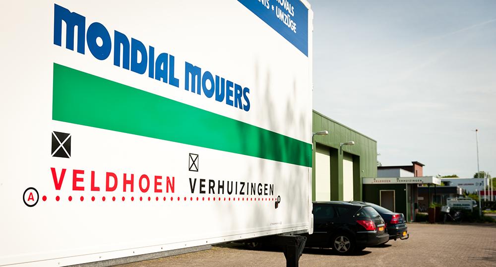Opslagruimte in Deventer van Veldhoen Verhuizingen
